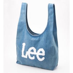 リー ロゴ エコバッグ トートバッグ 中色ブルー LEE LOGO ECO BAG TOTE BAG LIGHTBLUE LA0191-146 americanrushstore