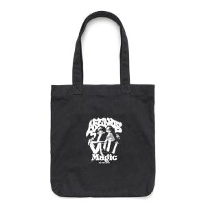 アフェンズ メンズ レディース トートバッグ キャンバス ブラック バッグ 鞄 スケート サーフ AFENDS MAGIC TOTE BAG BLACK 18D15-04|americanrushstore