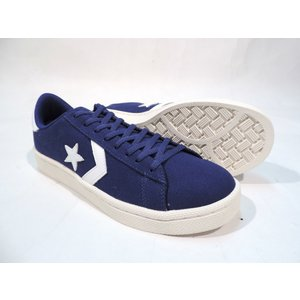 CONVERSE / コンバース XL PRO-LEATHER CANVAS OX プロレザー キャンバス NAVY|americanrushstore