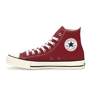 コンバース メンズ シューズ スニーカー 靴 オールスター ウォッシュド キャンバス ハイカット レッド CONVERSE ALL STAR WASHED CANVAS HI RED|americanrushstore