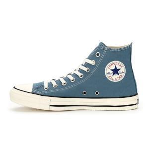 コンバース メンズ シューズ スニーカー 靴 オールスター ウォッシュド キャンバス ハイカット ブルー CONVERSE ALL STAR WASHED CANVAS HI BLUE|americanrushstore