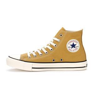 コンバース メンズ シューズ スニーカー 靴 オールスター ウォッシュド キャンバス ハイカット ゴールド CONVERSE ALL STAR WASHED CANVAS HI GOLD americanrushstore