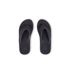 カスタム クエスト トン ビーサン ビーチサンダル サンダル サーフ ブラック メンズ KUSTOM QUEST THONG BLACK|americanrushstore