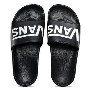 バンズ スライド オン ブラック サンダル シャワーサンダル 黒 レディース VANS SLIDE-ON (VANS) BLACK VN0004LGIX6|americanrushstore