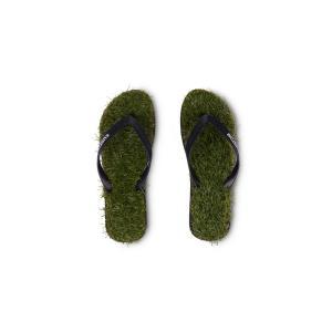 カスタム キープ オン ザ グラス 芝生 ビーサン ビーチサンダル サンダル サーフ グリーン メンズ KUSTOM KEEP ON THE GRASS GREEN|americanrushstore