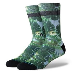 スタンス ソックス クルー グリーン ミディアムクッション 靴下 メンズ STANCE SOCKS TARCOLES GREEN CLASSIC MEDIUM CUSHION|americanrushstore