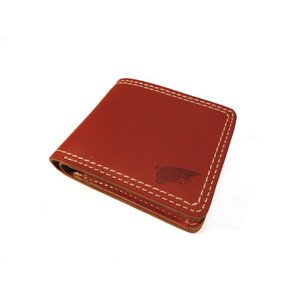 RED WING / レッドウイング LEATHER WALLET ウォレット 財布 二つ折り BROWN ブラウン 送料無料|americanrushstore