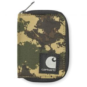 カーハート ロバートソン ウォレット カモペインテッドグリーン 財布 カードケース CARHARTT ROBERTSON WALLET CAMO PAINTED GREEN I021516|americanrushstore