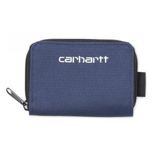 カーハート 財布 メンズ レディース ウォレット ブルー/ホワイト コインケース CARHARTT WIP PAYTON MIDI WALLET BLUE/WHITE I026182|americanrushstore