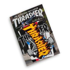 THRASHER / スラッシャー 10 STICKER PACK ステッカーパック 10枚入り|americanrushstore