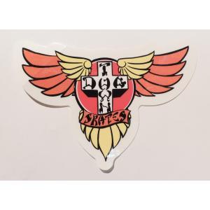 DOGTOWN / ドッグタウン WINGS STICKER ウィングス ステッカー スケート MULTI|americanrushstore