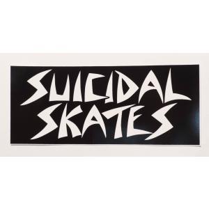 SUICIDAL TENDENCIES / スーサイダルテンデンシーズ SUICIDAL SKATES STICKER スーサイダル スケーツ ステッカー スケート BLACK ブラック|americanrushstore