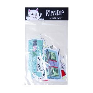 リップンディップ メンズ レディース ステッカーパック 猫 RIPNDIP SUMMER 2019 STICKER PACK|americanrushstore