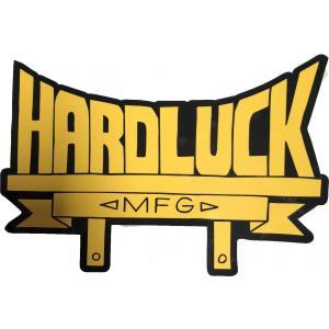 ハードラック ステッカー 小物 メンズ レディース スケート HARD LUCK STICKER|americanrushstore