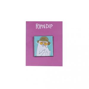 リップンディップ ピンバッジ ピンズ スケート 猫 RIPNDIP NERMAL S THOMPSON PIN SKATE|americanrushstore