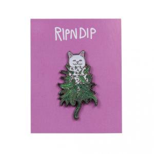 リップンディップ ピンバッジ ピンズ 猫 スケート RIPNDIP NERM NUG PIN SKATE|americanrushstore
