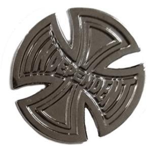 インデペンデント プッシュ バック ピン ピンズ ピンバッジ アンティークシルバー INDEPENDENT T/C PUSH BACK PIN ANTIQUE SILVER PINS americanrushstore