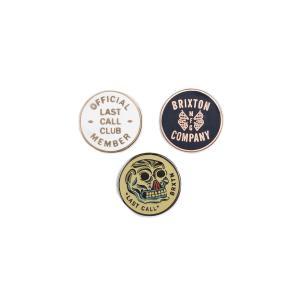 BRIXTON / ブリクストン LAST CALL PIN PACK ラストコール ピン パック PINS ピンズ ピンバッジ|americanrushstore
