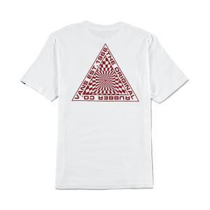 バンズ キッズ ボーイズ 半袖 Tシャツ カスタムフィット ホワイト 子供服 白 VANS BOYS HYPNOTICS T-SHIRTS KIDS WHITE|americanrushstore