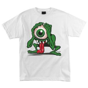 SANTA CRUZ / サンタクルーズ YOUTH PHILLIPS EYEGORE Tシャツ ユース キッズ WHITE|americanrushstore