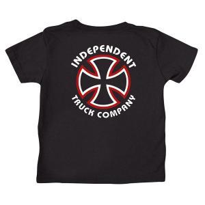 INDEPENDENT / インデペンデント TODDLER KID'S キッズ CLASSIC BAUHAUS S/S TEE 半袖 Tシャツ BLACK ブラック|americanrushstore
