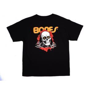 パウエル ペラルタ ユース リッパー 半袖 Tシャツ ブラック キッズサイズ スケート 子供服 黒 スケボー POWELL PERALTA RIPPER YOUTH S/S T-SHIRT BLACK|americanrushstore