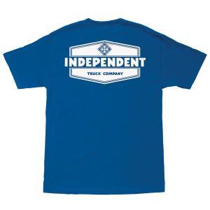 インデペンデント ユース 半袖 Tシャツ ロイヤルブルー 子供服 キッズ トラック 青 子供サイズ INDEPENDENT TRUCK CO. YOUTH INDUSTRY REGULAR S/S T ROYAL BLUE|americanrushstore