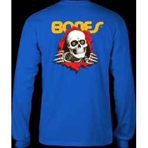 パウエル ペラルタ ユース リッパー 長袖 Tシャツ ロイヤル ブルー ロンT 子供服 キッズサイズ POWELL PERALTA YOUTH RIPPER L/S T ROYAL BLUE|americanrushstore