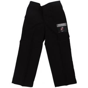 ディッキーズ ボーイズ ワークパンツ ブラック キッズ ユース 子供服 US企画 DICKIES BOY'S FLAT FRONT PANTS CLASSIC FIT BLACK|americanrushstore