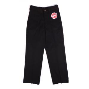 ディッキーズ ボーイズ ワークパンツ ブラック キッズ ユース 子供服 DICKIES BOY'S FLEX CLASSIC FIT STRAIGHT LEG BLACK|americanrushstore