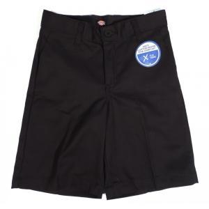 ディッキーズ ボーイズ ワーク ショーツ ブラック キッズ ユース 子供服 ハーフ パンツ 半ズボン DICKIES BOY'S FLEX CLASSIC FIT SHORTS BLACK|americanrushstore