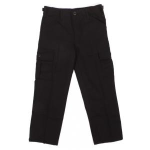 ロスコ キッズ 6ポケット カーゴパンツ ブラック 軍パン ボーイズ 子供服 ROTHCO KID'S BDU PANTS BLACK|americanrushstore