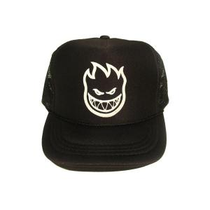 SPITFIRE / スピットファイヤー FLAKE KIDS MESH CAP BLACK メッシュキャップ ブラック|americanrushstore