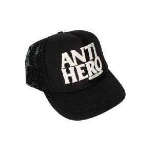 ANTIHERO / アンチヒーロー FLAKE KIDS MESH CAP メッシュキャップ BLACK|americanrushstore