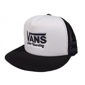 VANS / バンズ BOYS ボーイズ LOGO MESH CAP メッシュ キャップ KIDS キッズ BLACK/WHITE ブラック/ホワイト|americanrushstore