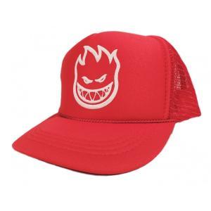 SPITFIRE / スピットファイヤー FLAKE KIDS MESH CAP メッシュキャップ RED|americanrushstore