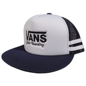 VANS / バンズ BOYS ボーイズ LOGO MESH CAP メッシュ キャップ KIDS キッズ NAVY/WHITE ネイビー/ホワイト|americanrushstore