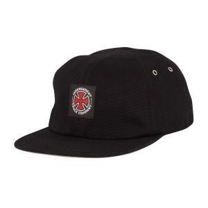 インディペンデント ユース ストラップバック ハット ブラック キャップ キッズ 子供用 帽子 INDEPENDENT YOUTH APPLIED STRAPBACK UNSTRUCTURED HAT BLACK CAP|americanrushstore