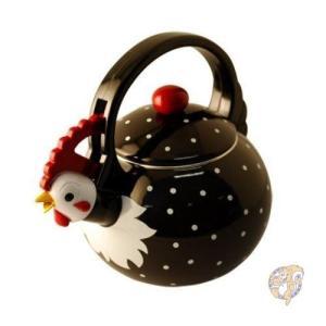 Supreme Housewares 可愛いやかん ケトル Whistling Tea Kettle...