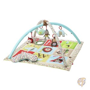 アメリカ発 Skip Hop Alphabet Zoo Activity Gym, Multi   ...