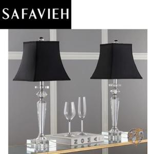 【Safavieh】サファヴィア テーブルライト 63.5cm Clear/Black americapro