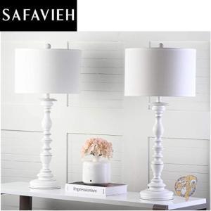 【Safavieh】テーブルランプ 2個セット ポリレジン Cream americapro