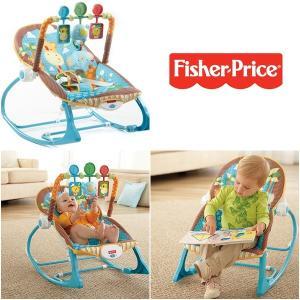 アメリカ発  Fisher-Price Infant to Toddler Rocker, Jung...