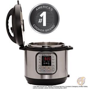 全自動圧力調理器 インスタントポット6リットル Instant Pot IP-DUO60 7-in-1プログラムモード搭載 多機能調理器 米国製品|americapro|02
