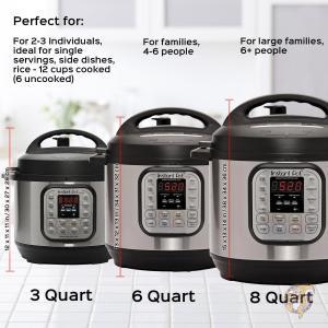 全自動圧力調理器 インスタントポット6リットル Instant Pot IP-DUO60 7-in-1プログラムモード搭載 多機能調理器 米国製品|americapro|06