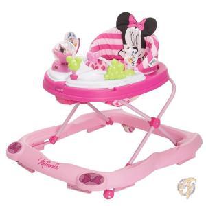 WA067CMH ミニーマウス グリッターミュージック/ライト ベビーウォーカー Disney社 Pink【並行輸入】