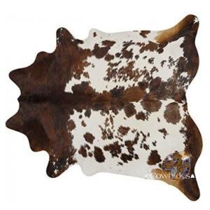 ラグ カーペット カウレザー 牛革 リビングに 213.4×182.9cm americapro