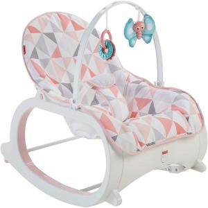 アメリカ発  Fisher-Price Infant-to-Toddler Rocker, Pink...