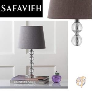 【Safavieh】サファヴィア テーブルライト 40.6cm Clear/Grey americapro