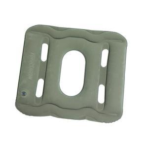 エアークッションおしり用グレー 送料無料 円座 運転 腰痛予防 オフィスワーク 旅行・トラベル 介護 ゆうパケット対応2